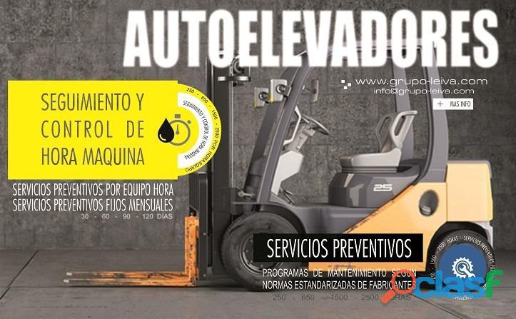 REPARACION DE AUTOELEVADORES SERVICIO TECNICO 3