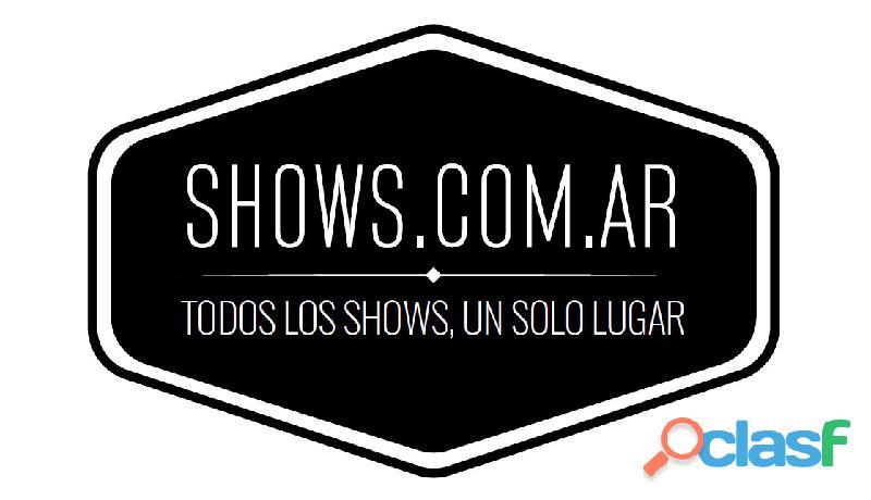 SHOWS.COM.AR   Todos los shows, un solo