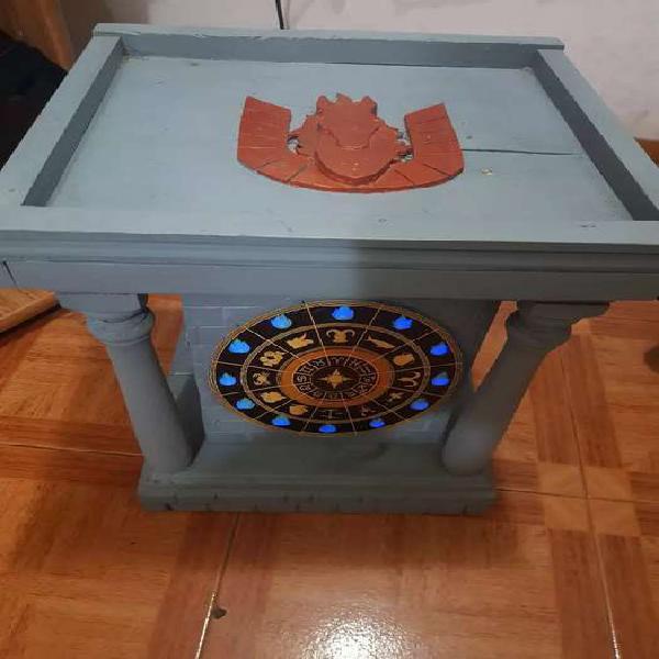 Adorno saint seiya torre del reloj artesanal
