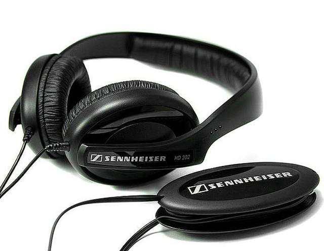 Auriculares profesionales sennheiser hd-202