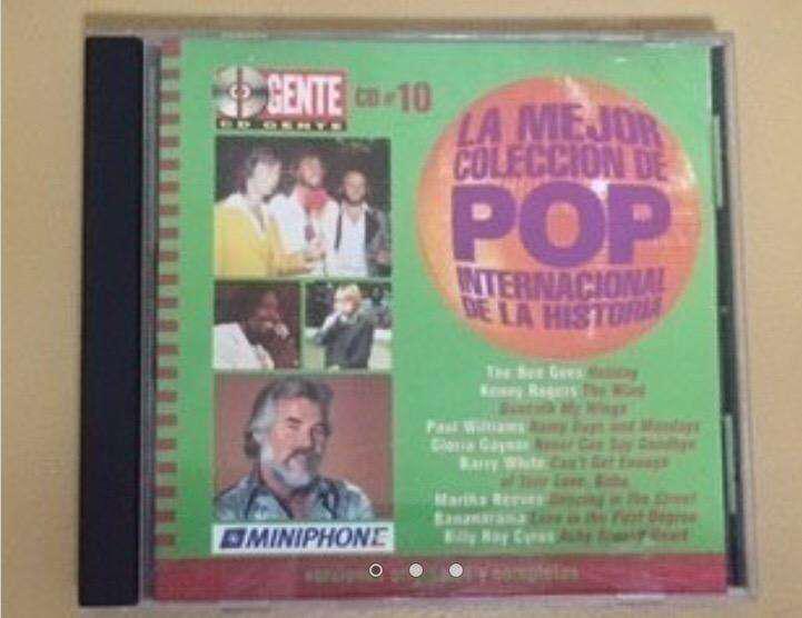 CD La Mejor Coleccion de Pop Internacional de la Historia N
