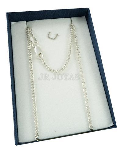 Cadena plata 925 groumet 2mm mujer-hombre maciza garantia