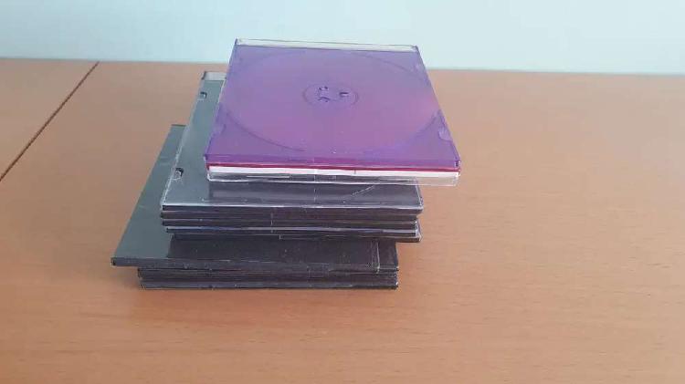 Cajas cd vacías