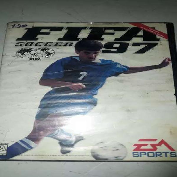 Cartucho de sega FIFA 97 usado