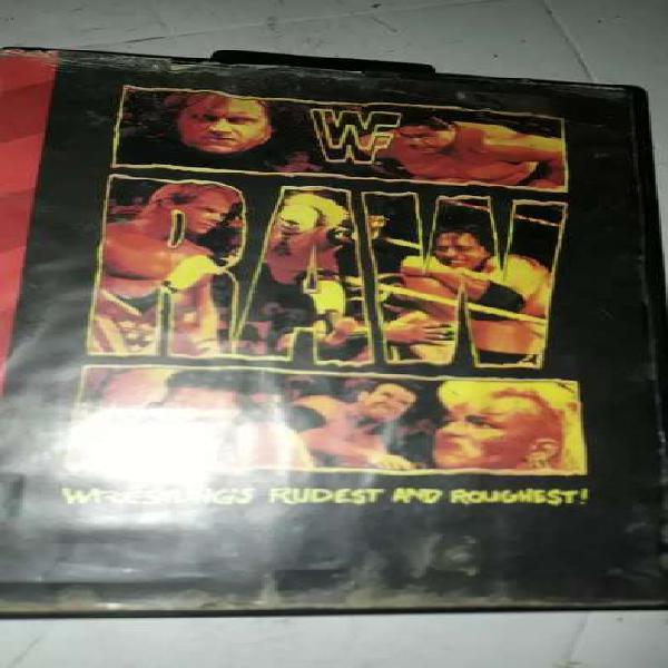 Cartucho de sega WF RAW usado