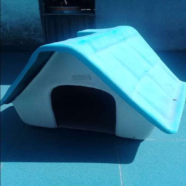 Casa para perro chico a mediano fibra de vidrio
