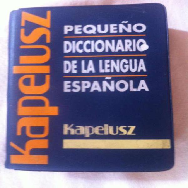 Diccionario kapelusz de español de bolsillo
