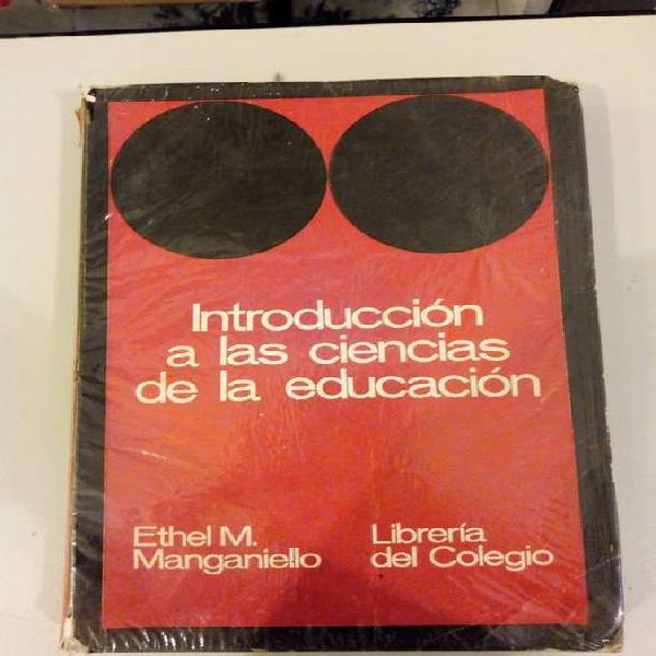 Introduccion a las Ciencias de la Educacion.