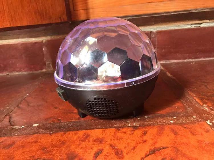Parlante y bola de disco- wireless ball speaker 6563 mlab