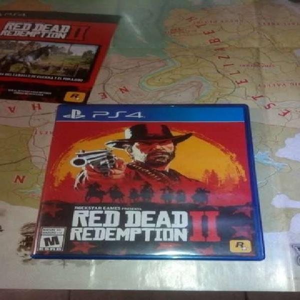 Red Dead Redemption 2 ps4 fisico usado como nuevo