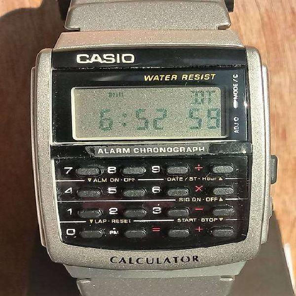 Reloj casio ca-56-1 calculadora