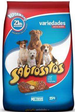 Sabrositos Variedades Perro Adulto 15 Kg