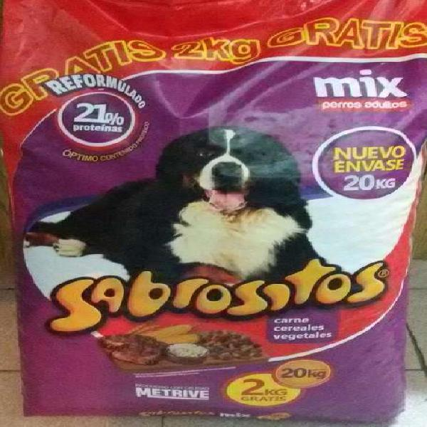 Sabrositos para Perros Adultos X 22kg