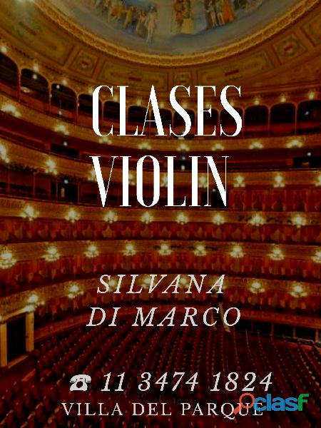 Clases de Violín Argentina 2