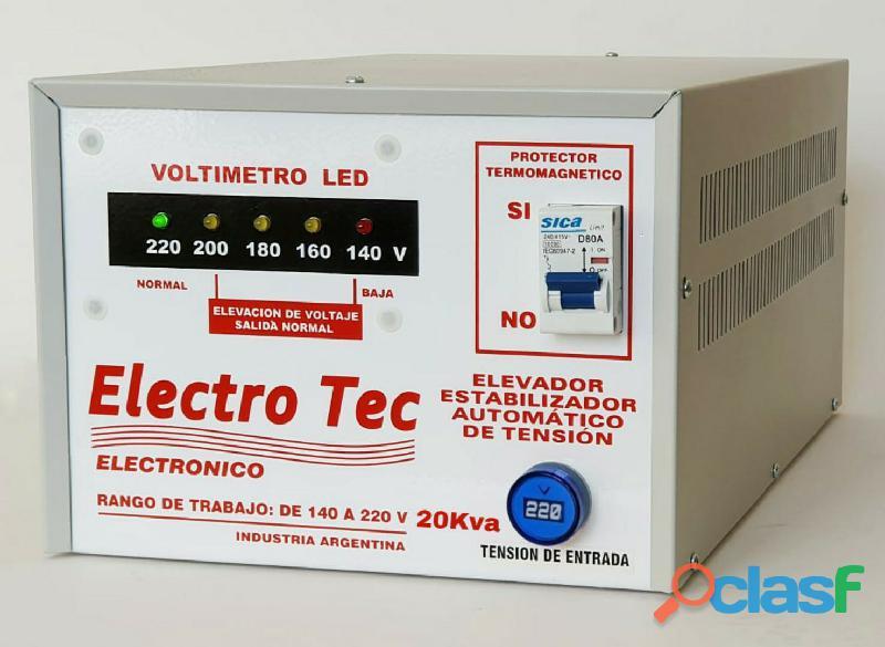 Elevador de tensión 20kva 20000 watts | comercios 4