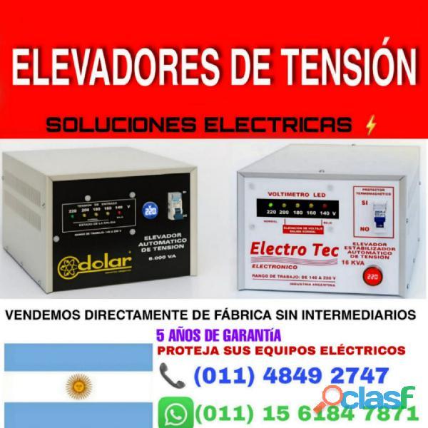 Elevador de tensión 20kva 20000 watts | comercios 3