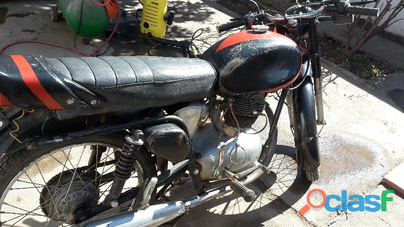 Motocicleta Gilera 150 cc. Super Sport Año 1960 1
