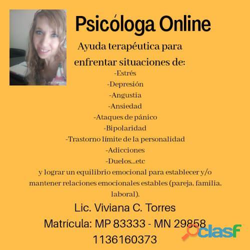 Psicóloga Online