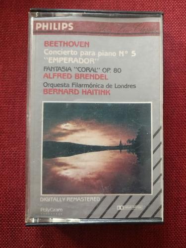 Beethoven, brendel, haitink cassette