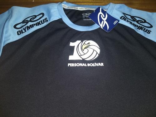 Camiseta entrenamiento bolivar vóley 10 años olympikus