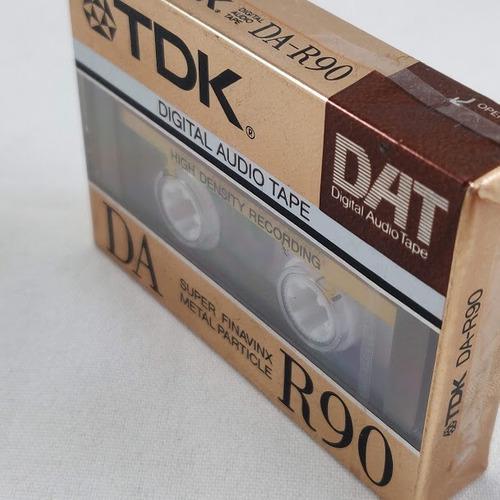 Cassette dat digital audio tape japan nuevo sellado tdk 90