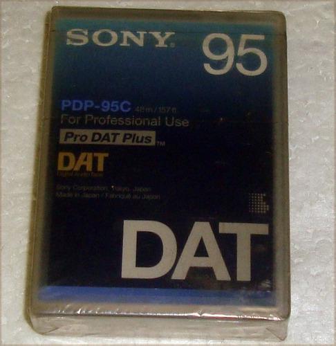Cassette virgen dat digital audio tape sony sellado / kktus
