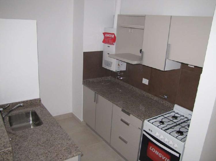 Departamento 1 dormitorio con doble balcon - barrio abasto /