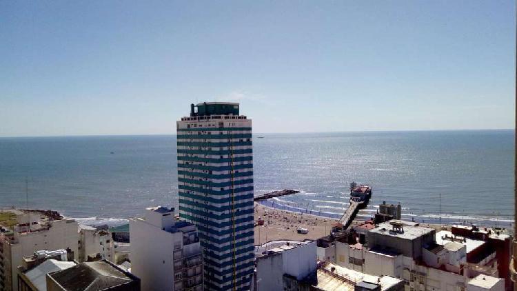 Depto 2 con dep y vista al mar. centro