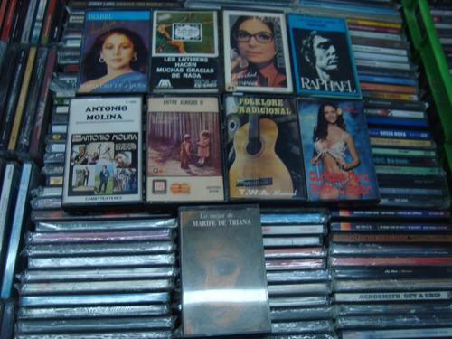 Lote cassettes nueve varios,todo a $500