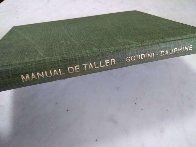 Manual de taller Renault IKA Gordini Dauphine