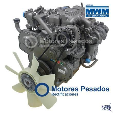 Motor mwm 4.10 turbo 0 km - serie 10 - 4 cil.