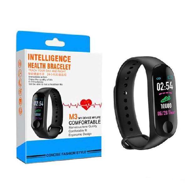 Reloj inteligente smart watch band m3 cardiaco presión