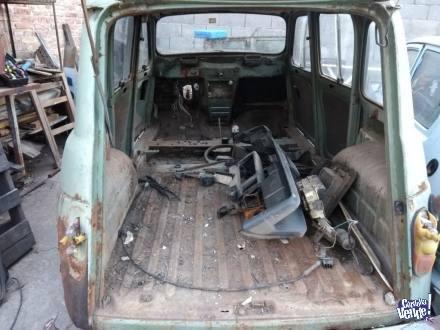 Renault 4 tl mod.85 s/caja,motor, papeles perdido ¡x partes