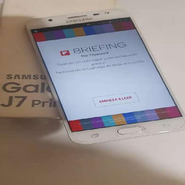 Samsung galaxy j7 prime libre, seminuevo en caja. digno de