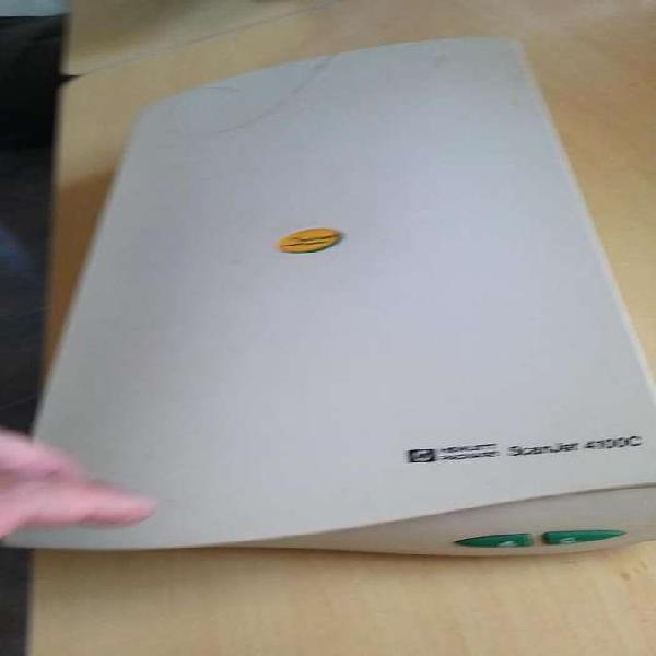 Scanner hp scanjet 4100c usado
