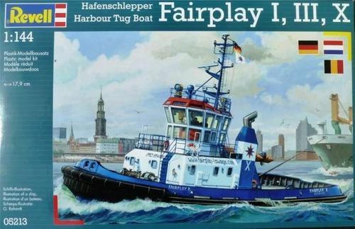Barco harbour tug boat fairplay 1/144 revell envio gratis