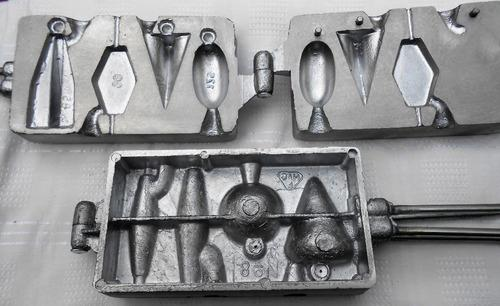 Moldes para plomada jones - distintos modelos