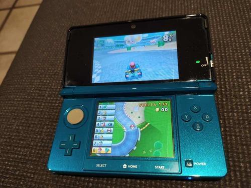 Nintendo 3ds + juegos + batería extra + manuales + funda