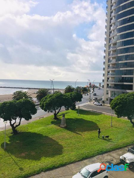 Venta exclusivo 4 ambientes frente al mar vista plena