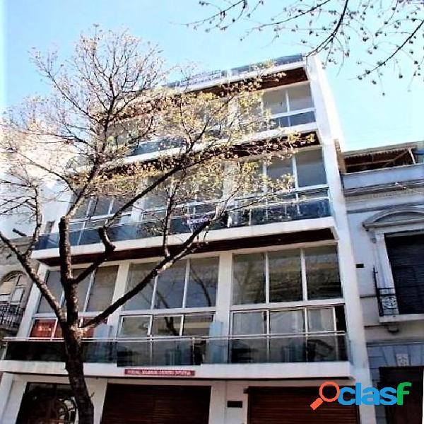 Departamento 2 ambientes tipo loft con balcon terraza y terraza propia