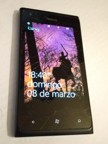 Celular nokia lumia 900 usado movistar con windows repuesto