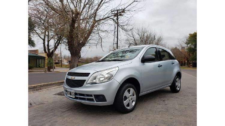 Chevrolet agile ls 2012 impecable permuto y financio
