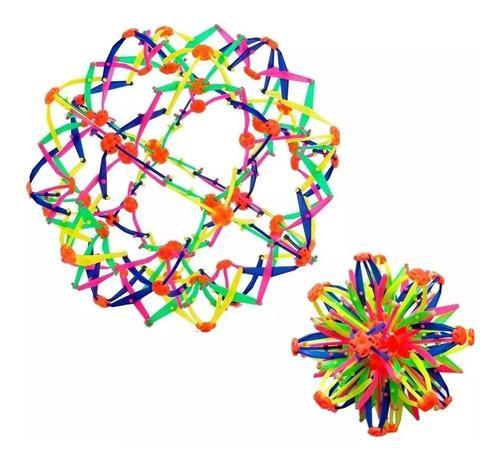 Pelota magica puntas colores se agranda se expande juguete
