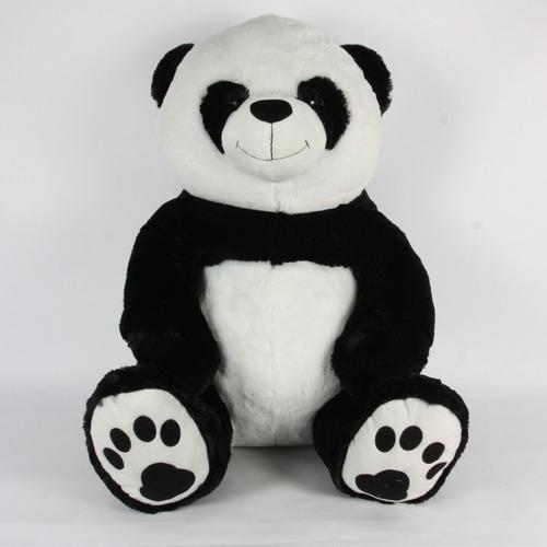 Peluche gigante oso panda sentado enorme 52 cm de alto promo