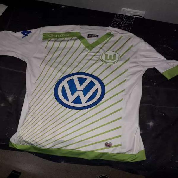 Camiseta wolfsburgo alemania ,original kappa talle l