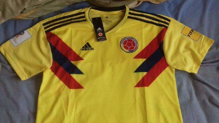 Camiseta selección colombia nueva adidas mundial futbol
