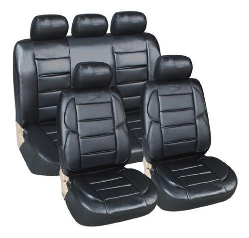 Funda cubre asiento cuerina acolchada p/ toyota hilux