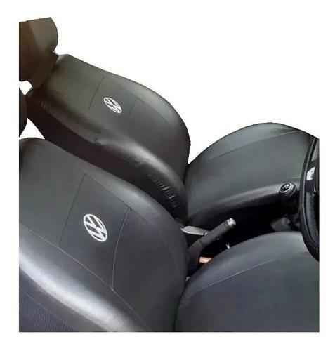 Funda cubre asiento cuero vw saveiro caddy furgon 2 unidades