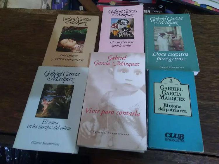 Lote de libros gabriel garcía marquez