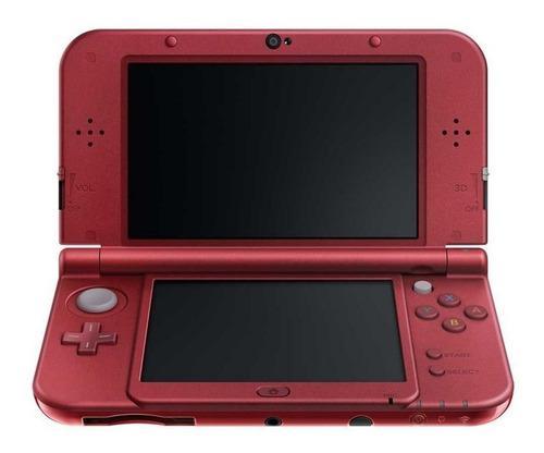 Nintendo new 3ds xl outlet + 32 gb 20 juegos cargador usb